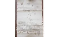 حجة شرعية عثمانية بمصر  سنة 1287 هـ