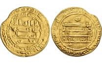 دينار عباسي مصر 260 هـ المعتمد على الله - 1751 -
