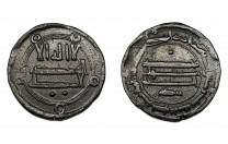 فلس عباسي الكوفة سنة 166 هـ