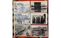 6 صور منسوخه من صور قديمه للكعبة المشرفة